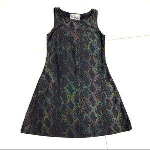 DORI CREATIONS snakeskin dress